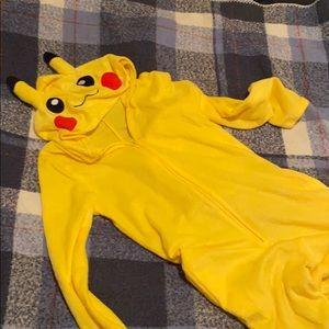 Pikachu Onesie!